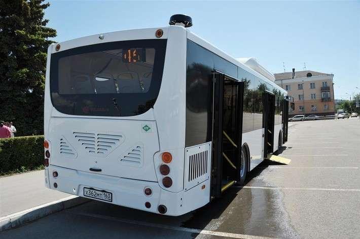Автопарк Тольятти пополнили 60 газомоторных автобусов «Волгабас»