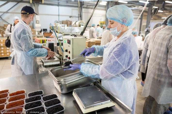 Фоторепортаж: как томский завод морские деликатесы делает