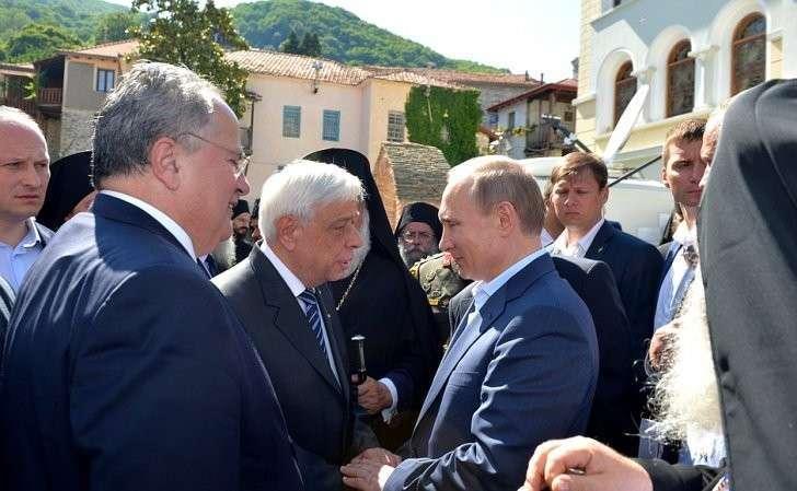 СПрезидентом Греции Прокописом Павлопулосом.