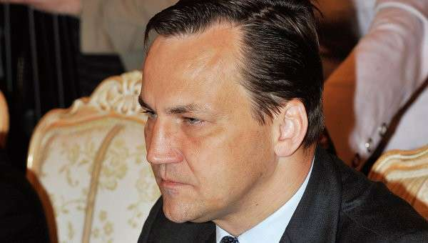 Министр иностранных дел Польши Радослав Сикорский. Архивное фото