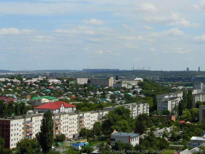 Город Губкин и Курская магнитная аномалия