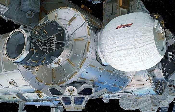 Надувной модуль NASА на МКС развёрнут полностью