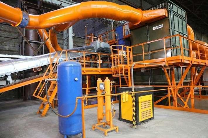 В Нижнем Тагиле открылось новое производство — комплекс тонкого помола ванадиевого шлака