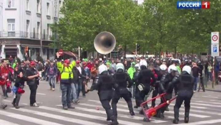 Побоище в Париже: молодёжь крушила всё на своём пути