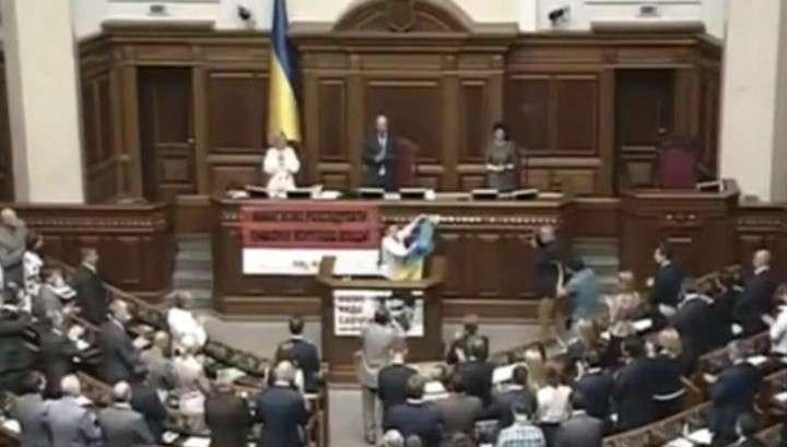 Убийца Савченко назвала Раду базаром, а депутатов - ленивыми школьниками