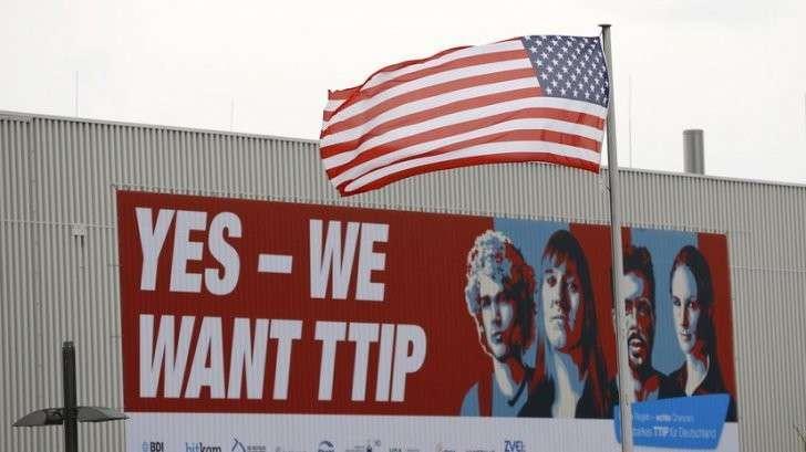 Европа раскритиковала США за подход к переговорам по Трансатлантическому партнёрству