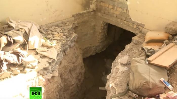 Корреспондент RT побывал в прорытых ИГ тоннелях под городом Эль-Фаллуджа в Ираке