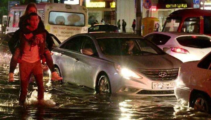 Потоп в Краснодаре: молодой человек погиб, наступив на оборванный провод