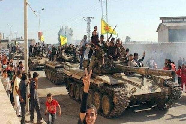 Битва за Ракку. Под флагом войны с террором американцы утверждаются в Сирии