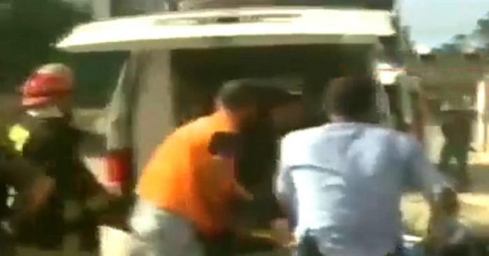 Появилось первое видео с места взрыва в Латакии