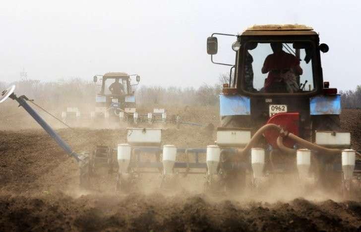 Производство сельхозтехники в России увеличилось в два раза