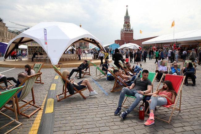 В Москве открылся книжный фестиваль «Красная площадь»