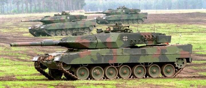 Военные НАТО попытались повторить «танковый биатлон»