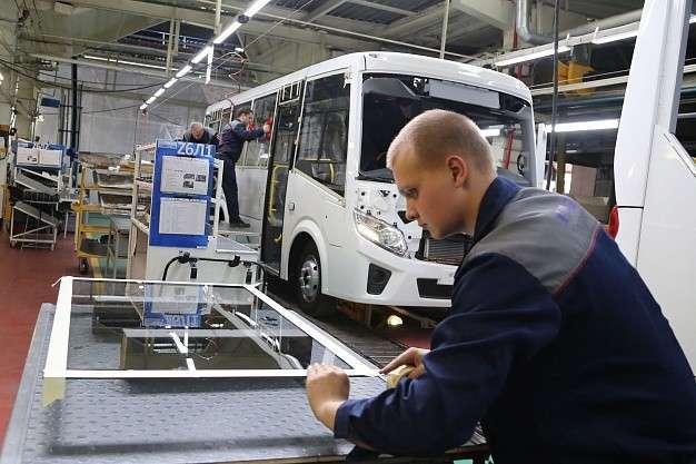 На Павловском автозаводе стартовало серийное производство автобусов «Вектор NEXT»