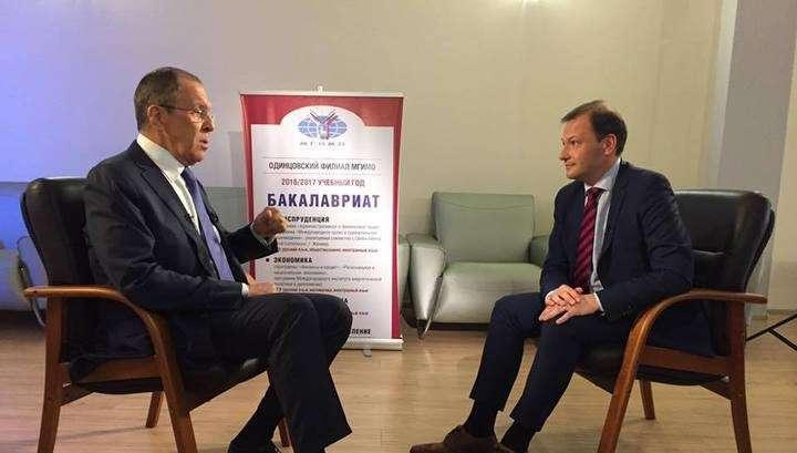 Сергей Лавров рассказал об одержимости Порошенко и неадекватности Эрдогана
