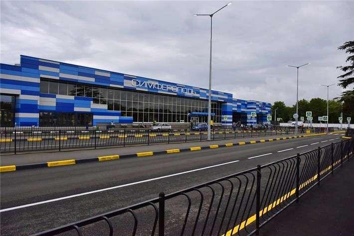 Завершена реконструкция привокзальной площади в аэропорту «Симферополь»