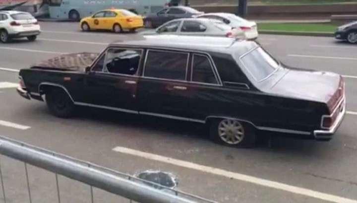 За бомжом на «Чайке» у Кремля устроили погоню со стрельбой