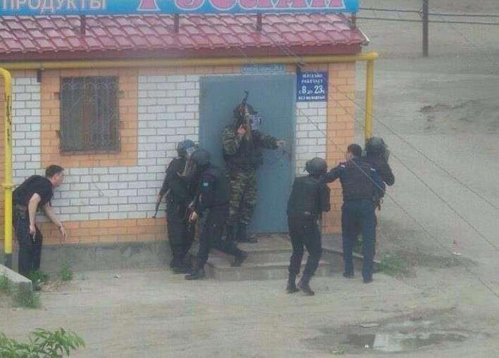 В Казахстане сепаратисты пытаются захватить населённый пункт Актобе