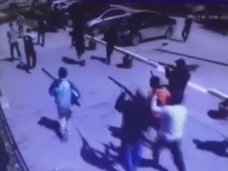 Лица экстремистов в Актобе «засветились» на камере видеонаблюдения