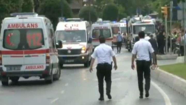 Теракт в Стамбуле: двое погибли, восемь пострадали