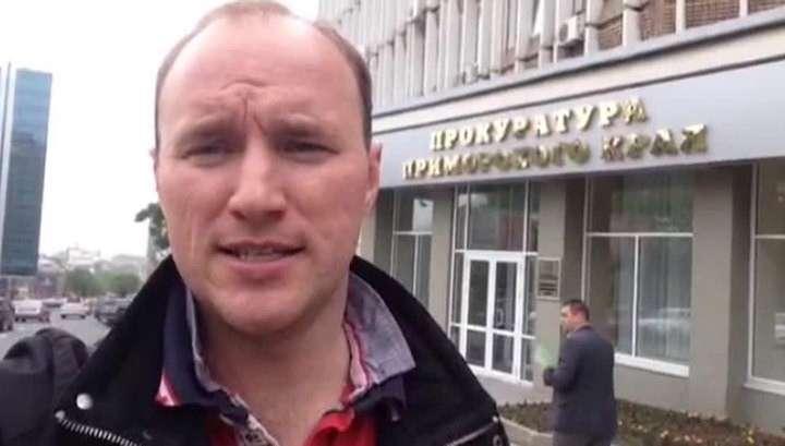 Корреспондента ВГТРК избили у входа в здание ФСБ Владивостока