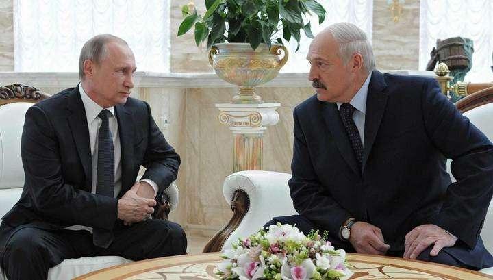 Владимир Путин: Белоруссии надо увеличить агропоставки, а не пропускать санкционные товары