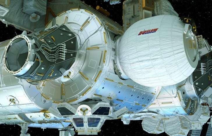 Американский надувной модуль BEAM на МКС закрыли до августа