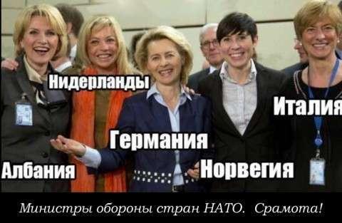 Как НАТО пудрит мозги Европе