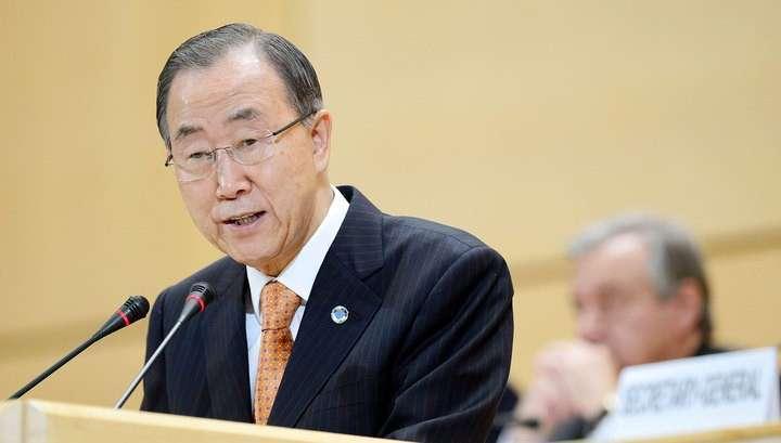 Генсек ООН подтвердил своё участие в Петербургском экономическом форуме