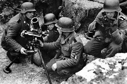 Бельгийские добровольцы на фронте