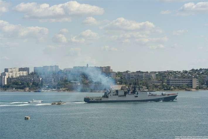 «Адмирал Григорович» пришёл в Севастополь