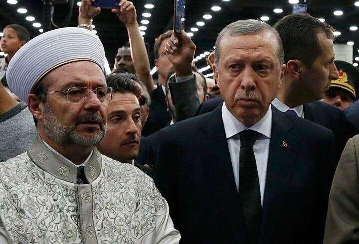 Эрдогана вежливо выгнали с похорон Мохаммеда Али в США
