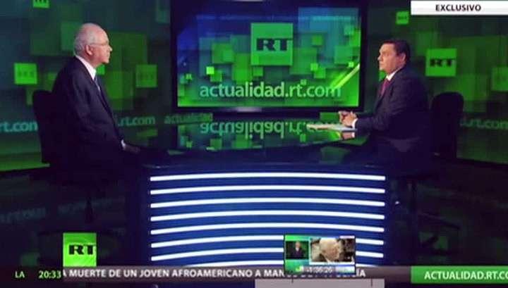 Вещание RT в Аргентине приостановят через два месяца