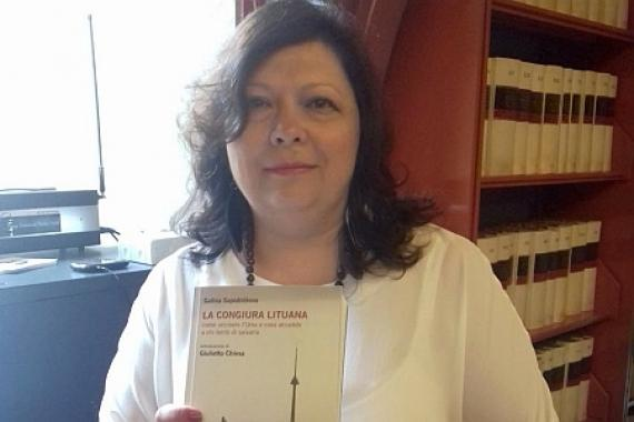 В Риме вышла книга Галины Сапожниковой «Литовский заговор. Как убивали СССР»