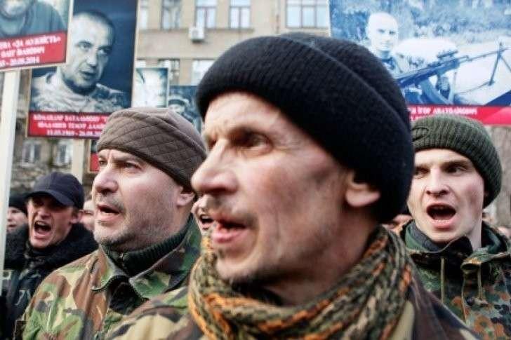 День России в преступном бандеровском логове Хунты