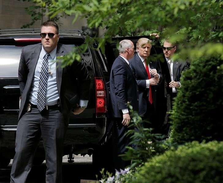 Накануне заседания прошла встреча Дональда Трампа с Генри Киссенджером Фото: REUTERS