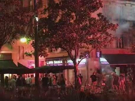 В Марселе закрыто метро из-за столкновений английских ультрас с полицией