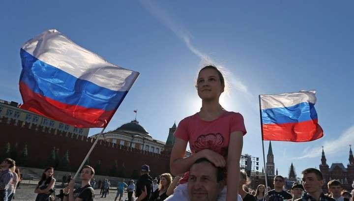 Москва отмечает День России