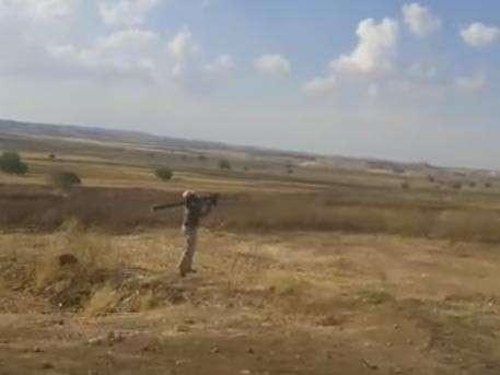 Боевики ИГИЛ охотятся на самолёты сирийской армии с ПЗРК