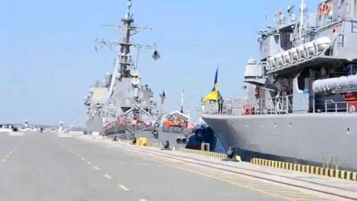 «Портер» и «Си бриз», или Проникновение НАТО на Украину