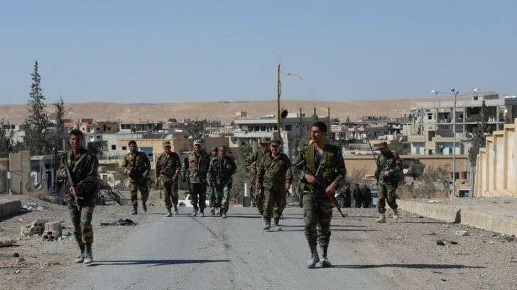 Армия Сирии укрепляет свои позиции в провинции Хомс