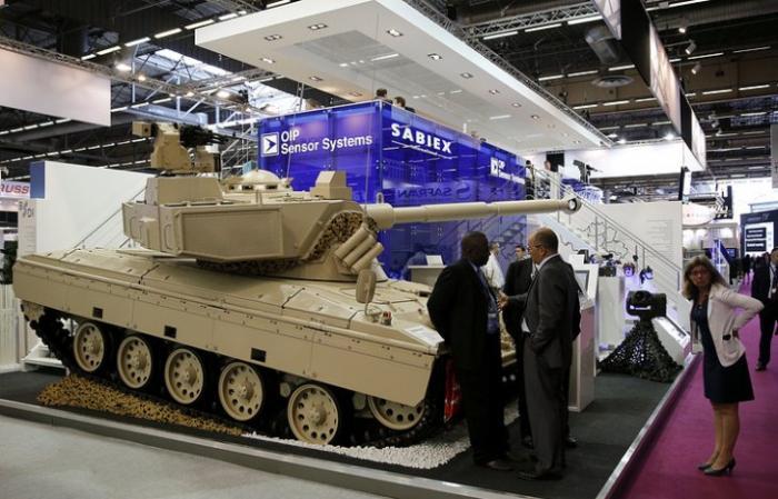 Сегодня во Франции открывается выставка сухопутных вооружений Eurosatory 2016