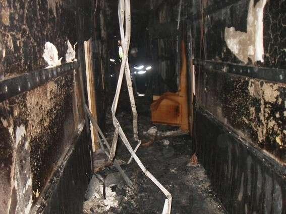 В Киеве «случайно» загорелся Соломенский суд. Выгорела комната с делами Заверухи и пасынка Фирташа