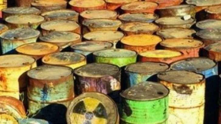 Украинская Хунта свозит в Донбасс ядерные отходы