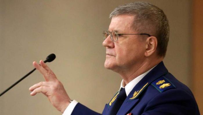 Юрий Чайка в третий раз занял пост генпрокурора России