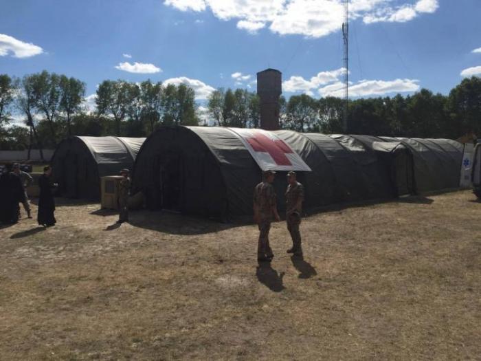 Украинские чиновники украли американский полевой госпиталь за 7 600 000 долларов