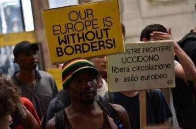 Украинцы! Ваша Европа уже занята неграми