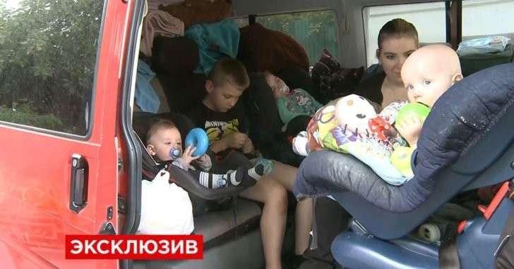 Немецкая семья из 9 человек сбежала из Германии в Россию из-за угроз