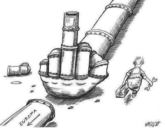 «Газпром» «вырежет» украинскую трубу