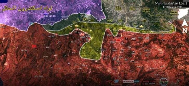 Подразделения правительственных войск Сирии вернули контроль над несколькими участками границы с Турцией